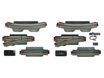 Roco 51250 geoLine Gleisset 1 mit Digitalweichendecoder