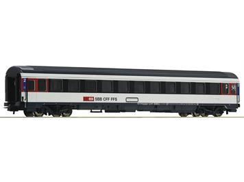 Roco 54167 Eurocity-Abteilwagen 2. Klasse, SBB, H0
