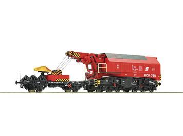 Roco 73036 Digital-Eisenbahndrehkran EDK 750 ÖBB DC digital mit Sound