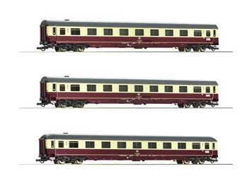 """Roco 74095 3-tlg. Set 1: Autoreisezug """"Christoforus-Express"""", DB"""