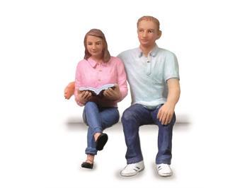 Scenecraft by Bachmann 184 sitzendes junges Paar G