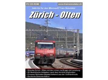 "Simtrain 6010 Add-On für TS ""Zürich - Olten"""