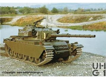 Swiss Line Collection 005007 Panzer 55 CENTURION HO