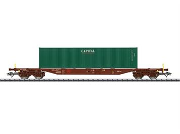 "TRIX 24132 Container-Tragwagen ""Capital"" CZ"