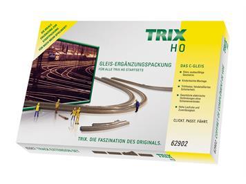 Trix 62902 Ergänzungspackung C2 HO