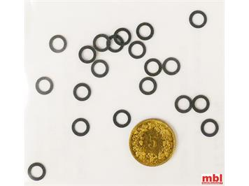 TRIX E12225800 Minitrix Haftreifen, 20 Stück, N