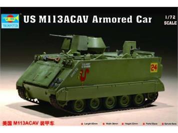 Trumpeter 07237 US M113 ACAV Armored Car