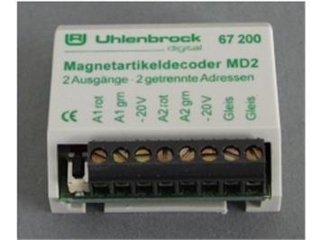 Uhlenbrock 67200 MD 2 Magnetartikel-DX für 2 Weichen