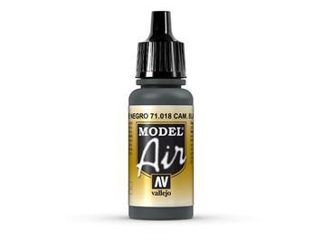 Vallejo 71.018 Model Air 17ml, CAM. BLACK GREEN