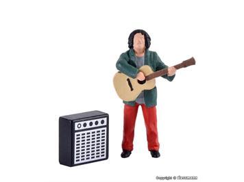 Viessmann 1510 Straßengitarrist mit Verstärker, bewegt, H0