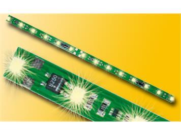 Viessmann Waggon-Innenbeleuchtung 14 warmweisse LED und Pufferkondensator
