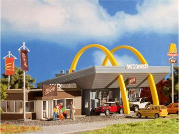 Vollmer 47766 Mc Donald's mit Mc Cafe N