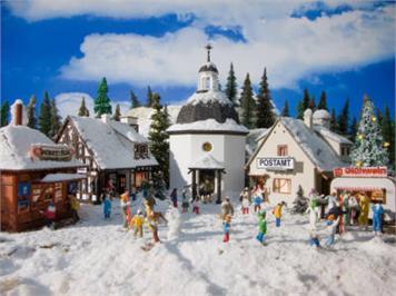 Vollmer Weihnachtsdorf Spur H0