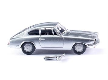 Wiking 018702 BMW 1600 GT Coupé -silber-metallic-