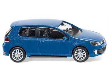 Wiking VW Golf VI GTD shadowblue-metallic HO