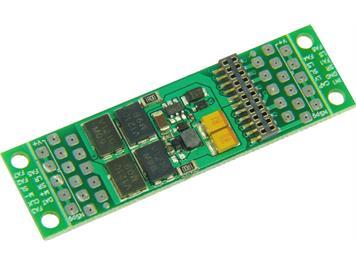 ZIMO ADAPLU15 Adapter-Platine für PluX-22-Decoder mit 1,5V Funktions-Niederspannung