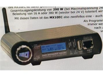ZIMO MX10EC Digitalzentrale 300 Watt DCC/MM