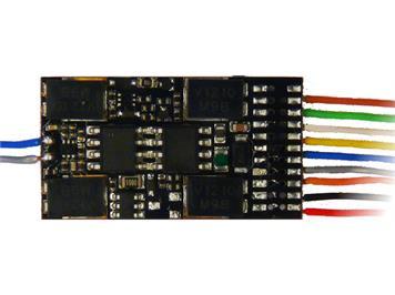 ZIMO MX632R Hochleistungs-Decoder mit 8pol. Stecker (NEM652)