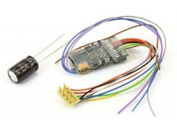 ZIMO MX635R HO-Decoder mit Energiesp.-Ansch.(16V), 1,8 A, 10 Fu-Ausgänge, 8pol. Schnittst