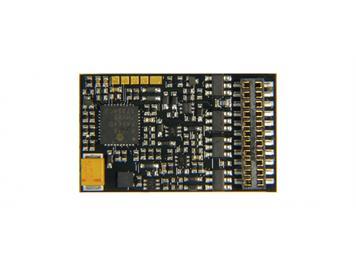 ZIMO MX636C H0 Decoder, 1,8 A, 10 Fu-Ausgänge, 21mtc