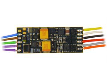 ZIMO MX649 Miniatur Sound-Decoder an Litzen