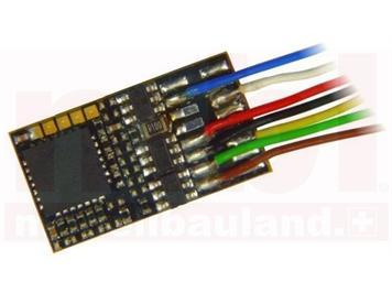 ZIMO MX685 Funktionsdecoder, 8 Funktions-Ausgänge an Litzen, 1,0A