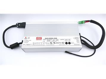 ZIMO Netzgerät 600 Watt (30V, 20A) Meanwell HLG-600H-30A - 26 x 14,5 x 5 cm; 3,4 kg