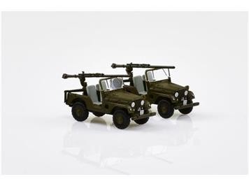 ACE Arwico Collection Edition 005106 Willys Jeep M38A1 PAK58-Panzer Abwehr (2 Stk.) CH HO