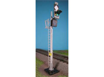 Alphamodell 5622 SBB+CFF Vorsignal Typ N (weisse LED-Leuchtziffer) HO