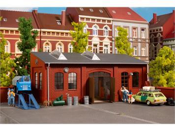 Auhagen 11460 H0 Kfz-Werkstatt