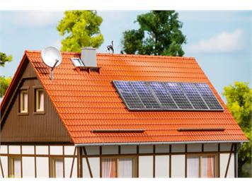 Auhagen 41651 Sat.-Anlagen, Solarkollektoren HO