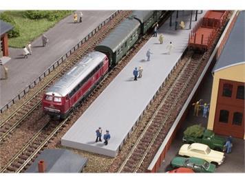 Auhagen 44641 Bahnsteig ohne Überdachung N