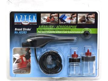 Aztek 2203 Broad Stroke Airbrush Set