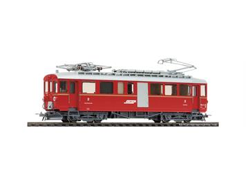 Bemo 1368 148 RhB ABDe 4/4 38 Bahndiensttriebwagen rot - digital DCC, H0m
