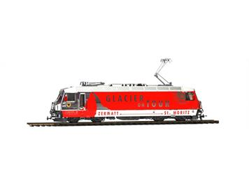 "Bemo 1759 161 RhB Ge 4/4 III 651 ""Glacier on Tour"", H0 DC mit ESU LokSound V5"