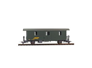 Bemo 3265 115 RhB D2 4045 Packwagen grün, H0m