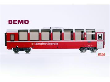 Bemo 3594 143 RhB Bp 2503 Panoramawagen, H0 3L-WS