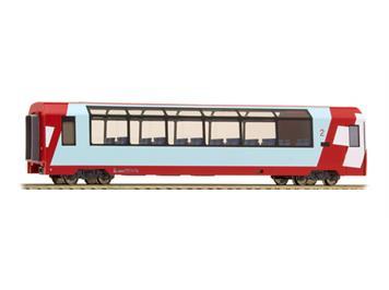 """Bemo 3689 124 RhB Bp 2534 Panoramawagen """"Glacier Express"""" HO"""