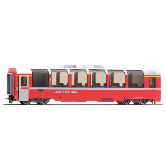 "Bemo 3693 134 RhB Api 1304 Panoramawagen ""Bernina Express"" HO"