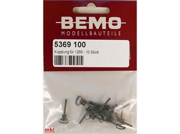 Bemo 5369 100 Kupplung für 1269 - 10 Stück, H0m