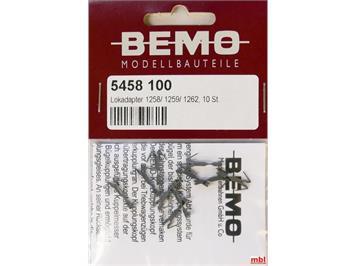 Bemo 5458 100 Kurzkupplung für 1258 / 1259 / 1262 (10 Stk.)