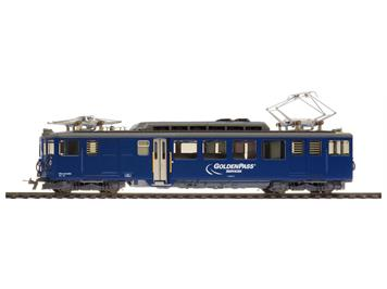 "Bemo MOB BDe 4/4 3005 ""GoldenPass Services"" blau"