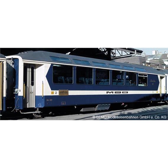 """Bemo MOB Bs 225 """"Panoramic Express"""" 2. Klasse"""