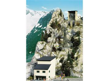 Brawa 6341 Gebäudebausatz zur Seilbahn Nebelhorn H0