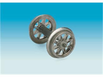 Brawa AC Speichenradsatz mit Spitzlagerung HO für Nr. 2170/2171/2172/2173/2320/2321