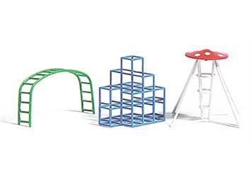 Busch 1164 Spielplatz Kletter-Set HO