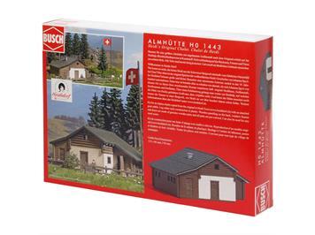 Busch 1443 Heidialp (Bausatz) HO