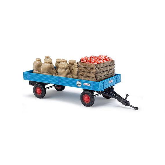 Busch 44995 Anhänger mit Apfelladung HO