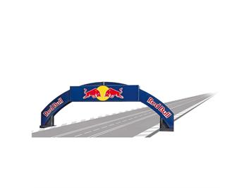 Carrera 20021125 Rennbogen Red Bull 1:32
