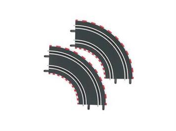 Carrera Go! 61603 1/90° Kurven (2)